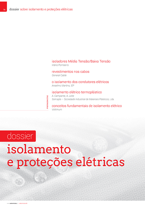 Dossier sobre Isolamento e proteções elétricas