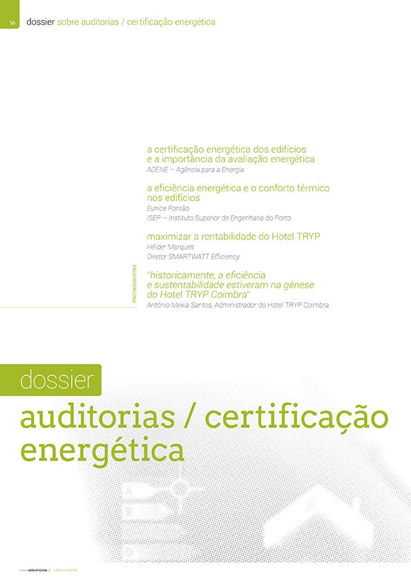 Dossier sobre Auditorias/certificação energética