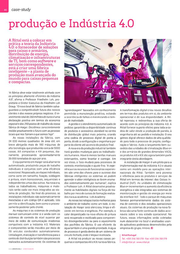 Artigo sobre Produção e Indústria 4.0