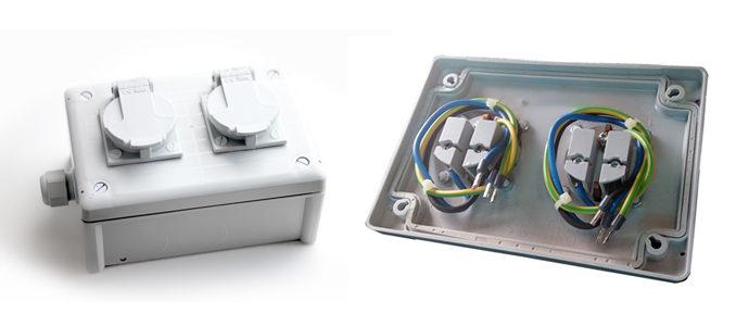 JSL: JSA3093 – caixa industrial de potência estanque