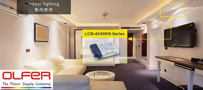 OLFER: LCM-40/60KN – driver LED policorrente com certificação KNX