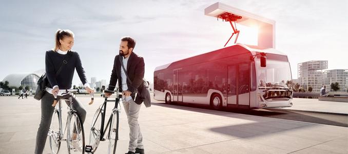 O futuro do transporte sustentável com a ABB