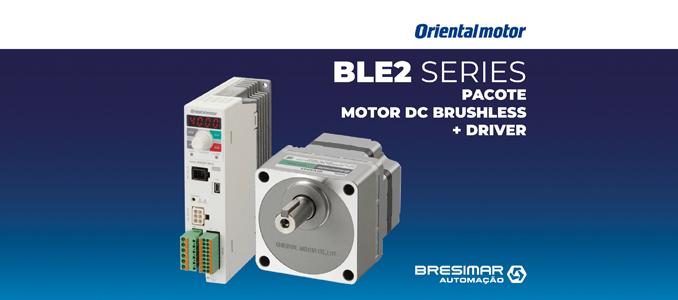Bresimar Automação: Motor DC brushless da Oriental Motor de elevado desempenho