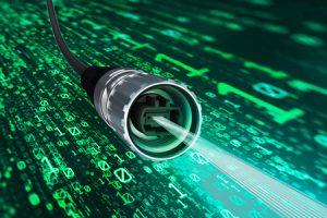 Phoenix Contact: conetor de dados de fibra ótica da série M17 MPO