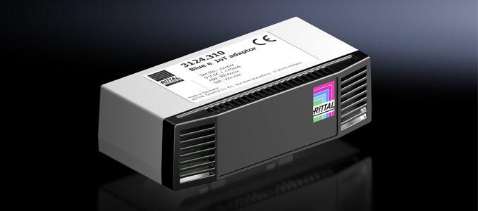 Rittal: novo adaptador IoT para unidades de climatização de armários