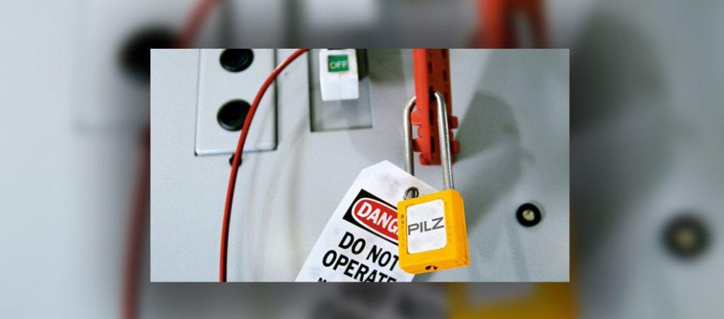 Pilz: Lockout-Tagout (LoTo) para o controlo seguro de energias perigosas