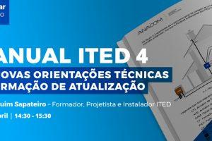 ATEC promove webinar sobre Manual ITED 4