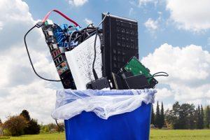 Reciclagem de equipamentos elétricos