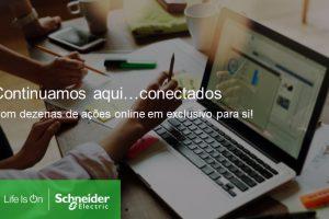 Schneider Electric continua com agenda de webinars gratuitos
