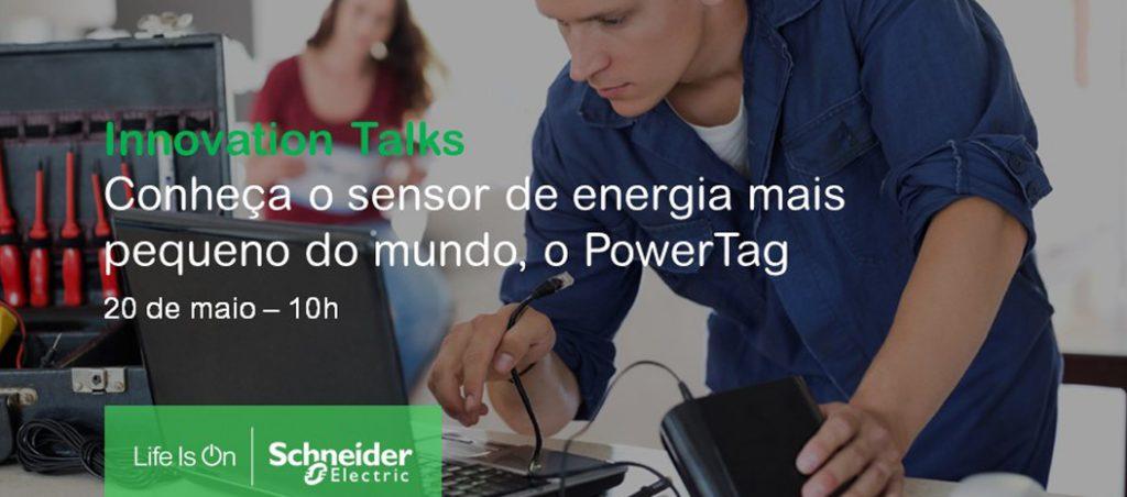 Schneider dá a conhecer o sensor de energia Powertag em webinar