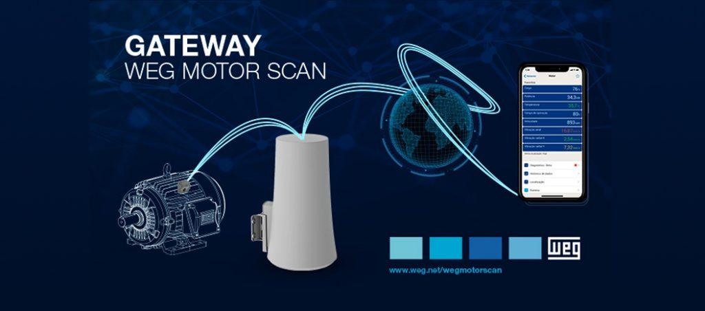 WEGeuro: gateway WEG Motor Scan chega ao mercado