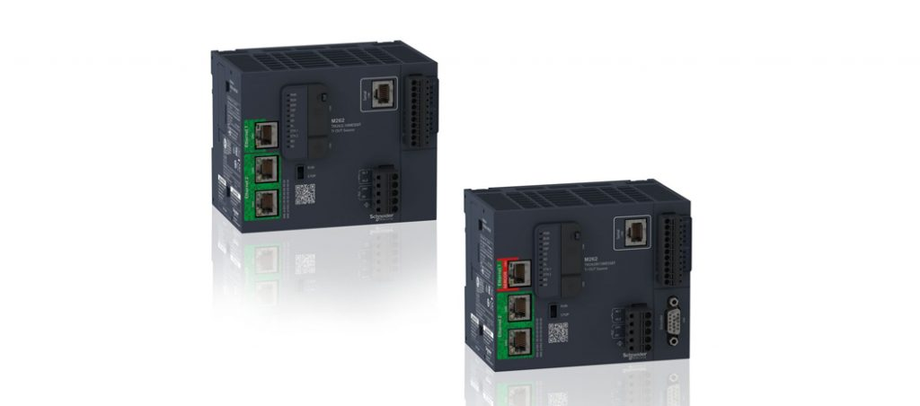 Schneider Electric lança o controlador Modicon M262 IIoT ready