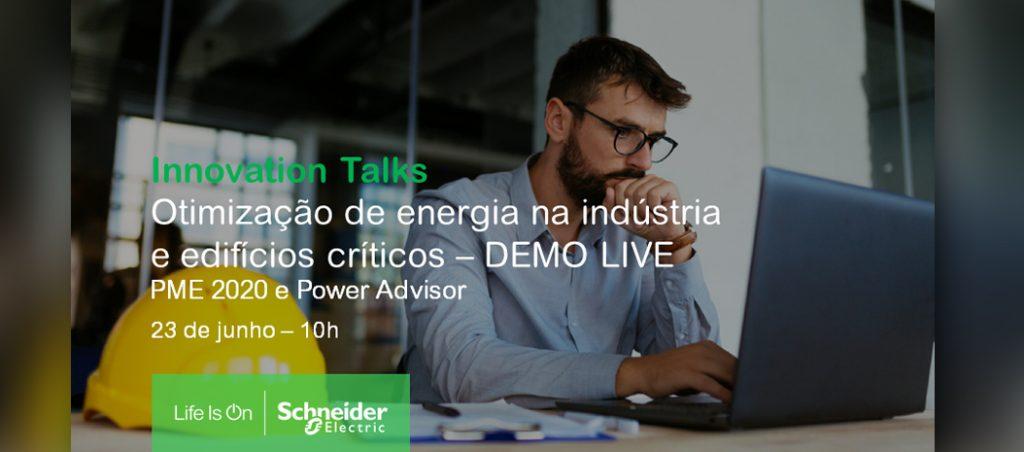 Webinar da Schneider Electric debate otimização de energia na indústria e edifícios críticos