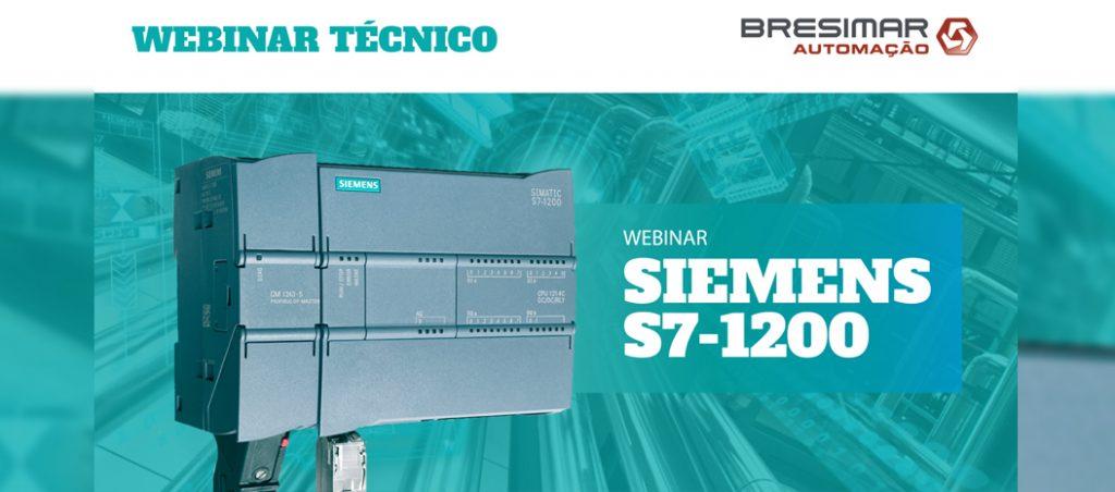 AMANHÃ: webinar técnico SIEMENS S7-1200