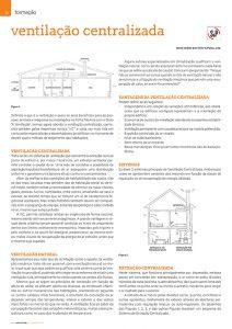 Artigo sobre ventilação centralizada