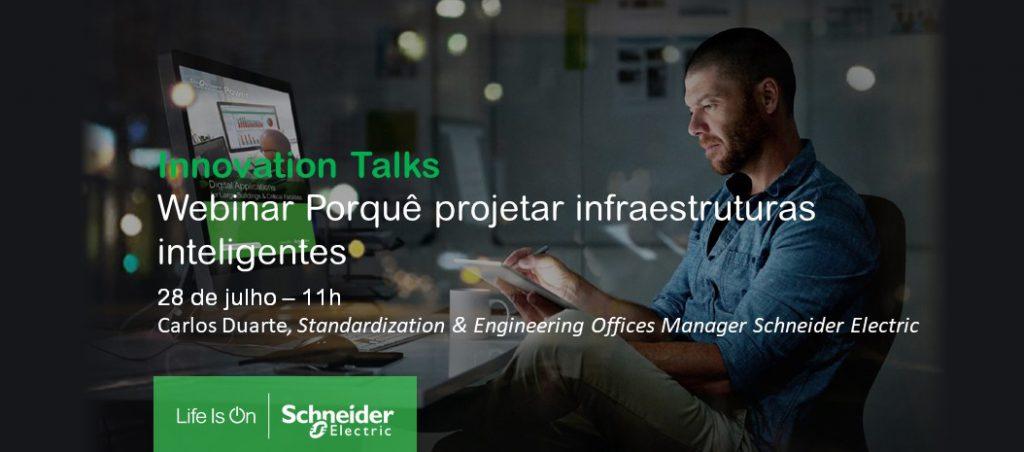 Porquê projetar infraestruturas inteligentes (webinar)
