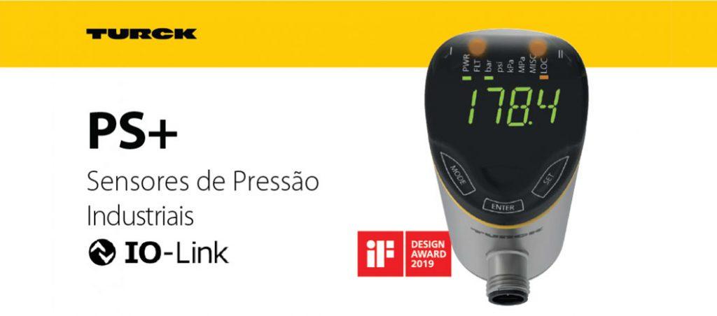 Bresimar Automação: Turck – Sensor de pressão PS+