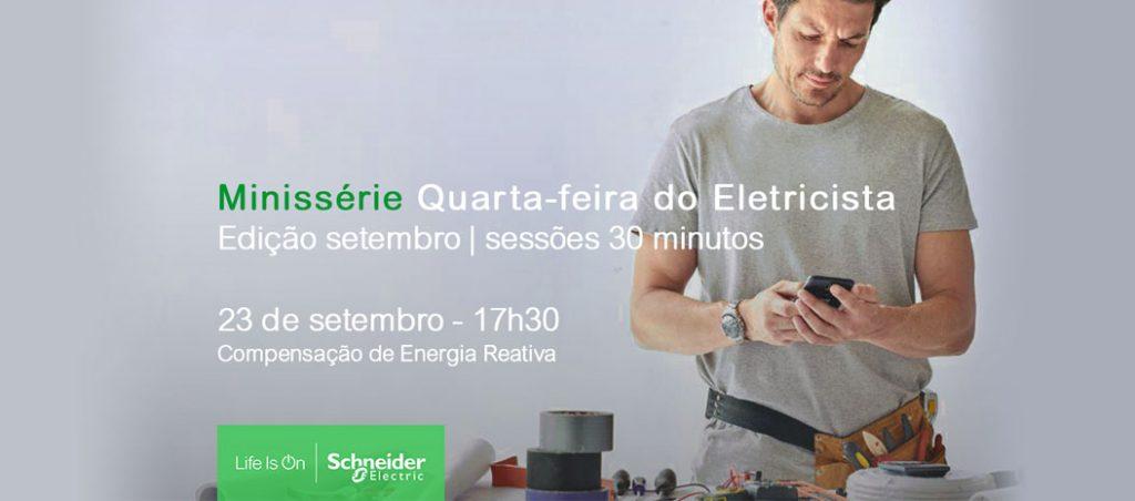 """Minissérie """"Quarta-feira do Eletricista"""" – Compensação de Energia Reativa"""