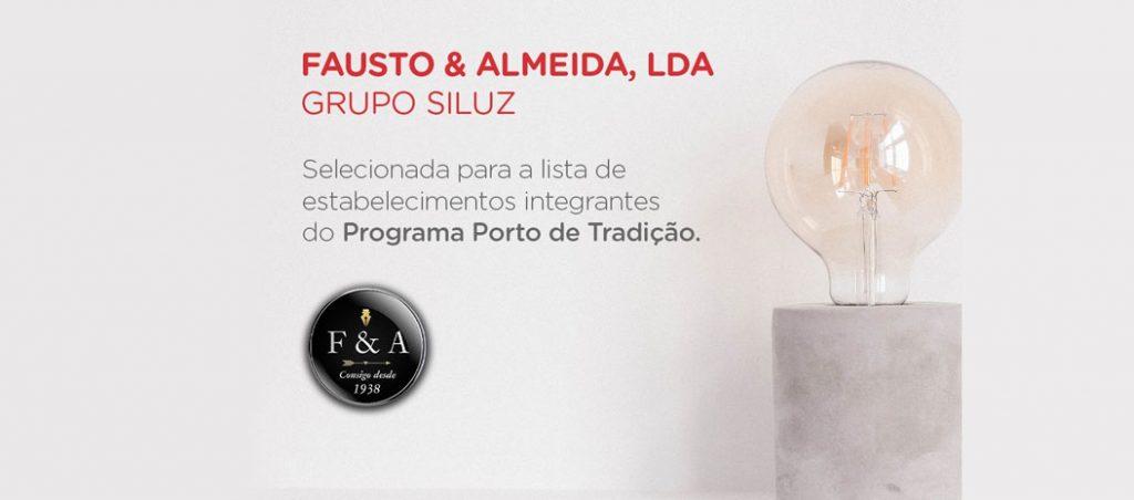 """Fausto & Almeida selecionada como estabelecimento do """"Porto de Tradição"""""""