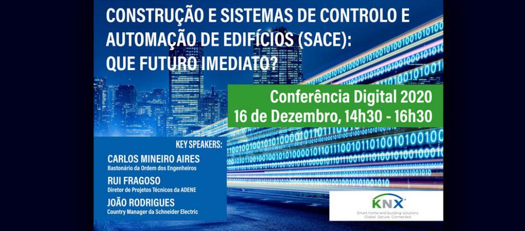 Conferência Digital KNX dedicada ao futuro da construção e sistemas de controlo e automação de edifícios