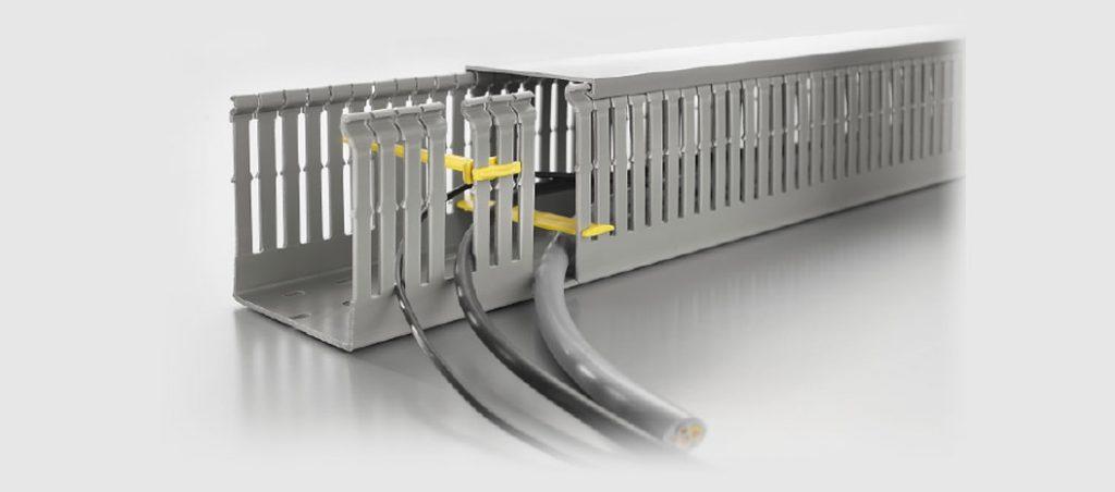 Linha de produtos para caminhos de cabos da Weidmüller