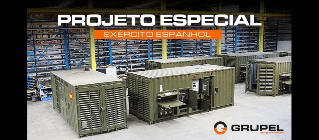 Projeto especial Grupel para o exército espanhol
