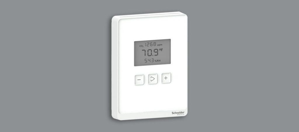 Schneider Electric lança duas gamas de multisensores para garantir a qualidade do ar interior