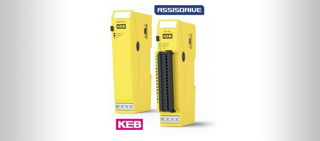 KEB – PLC e módulos I/O de segurança certificados