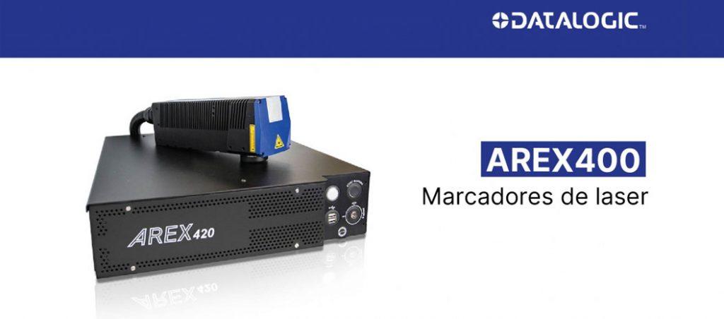 Marcadores laser AREX400 da Datalogic