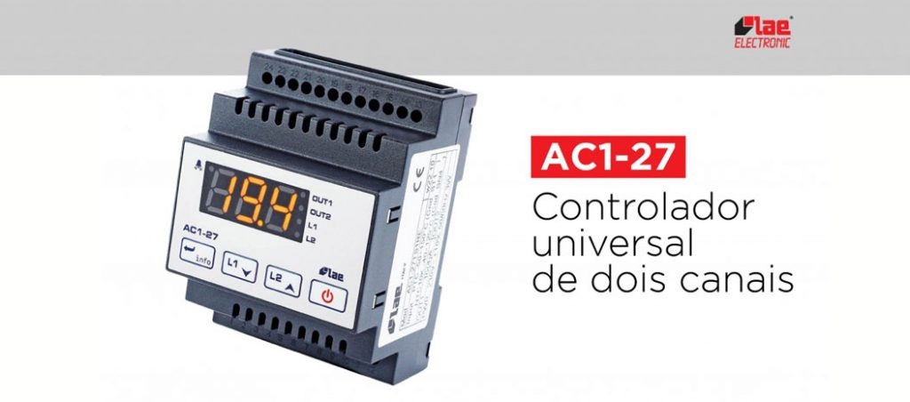 LAE Electronic: controlador universal AC1-27