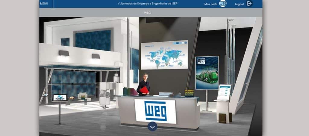 WEG presente nas Jornadas de Emprego Online do ISEP