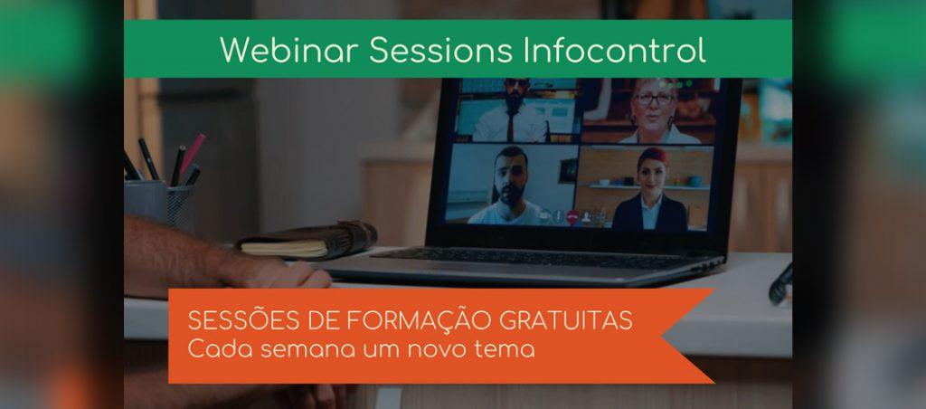 Sessões de formação gratuitas na Infocontrol