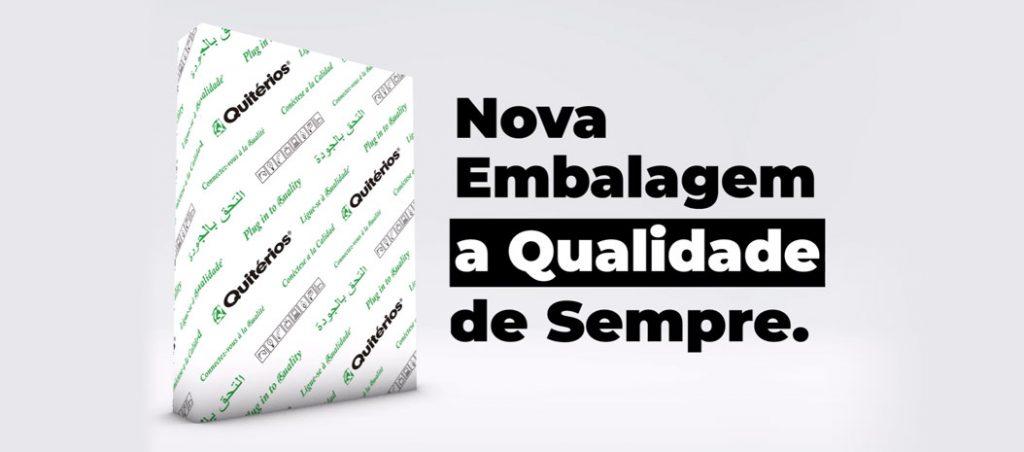 QUITÉRIOS anuncia lançamento de nova embalagem