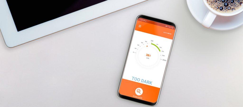 app Lux-O-Meter: iluminação correta no seu escritório com a LEDVANCE