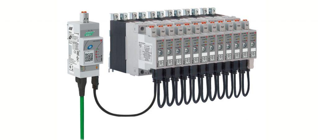 NRG: relés estáticos com interface Profinet e Ethernet/IPTM