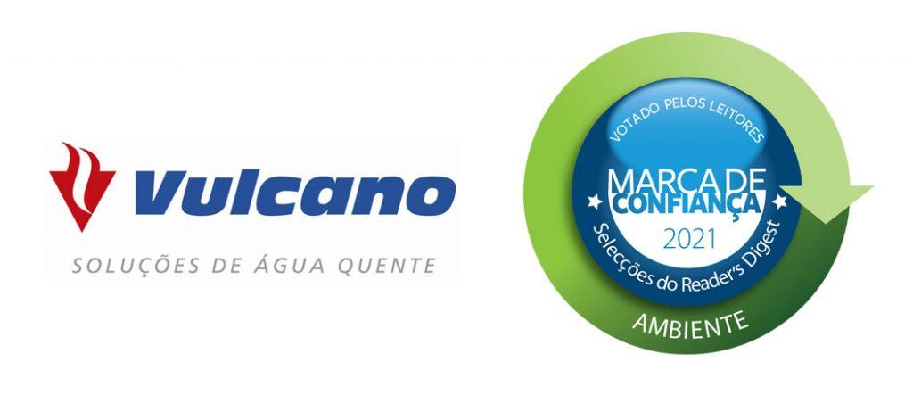 Vulcano distinguida como marca de confiança ambiente
