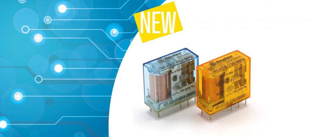 PCB e mini relé plug-in: a nova proposta da Finder