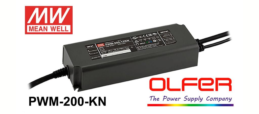 driver de LED PWM-200KN com KNX-Secure