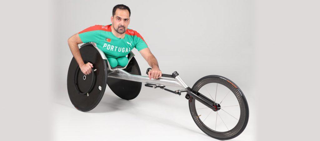 João Correia nos Jogos Paralímpicos com o apoio da Vulcano